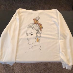 NEW White Sweatshirt